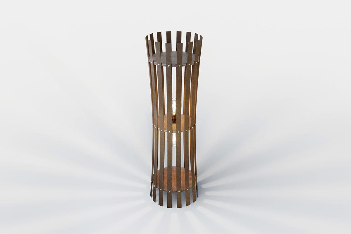 Cestino Φωτιστικό δαπέδου
